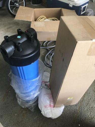 Pentek HFPP-1-PR20 Big Blue Whole House 20 inch Filter Housi
