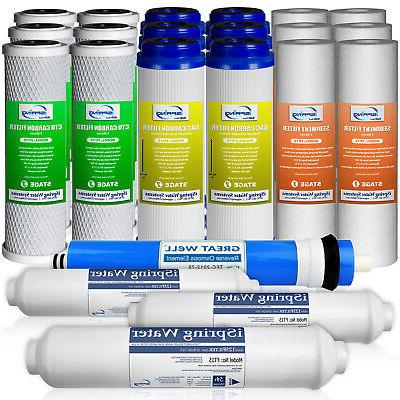 iSpring F22-75 3-Year 75GPD Filter Replacement Supply Set fo