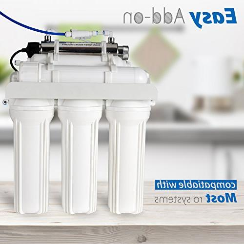 Sterilizer Water Filter Smart Flow Sensor 1-GPM 11-watt
