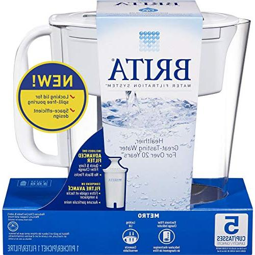 Brita Small Cup Water Filter 1 Standard Free