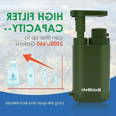 Personal Filter Pump Purifier Backpacking