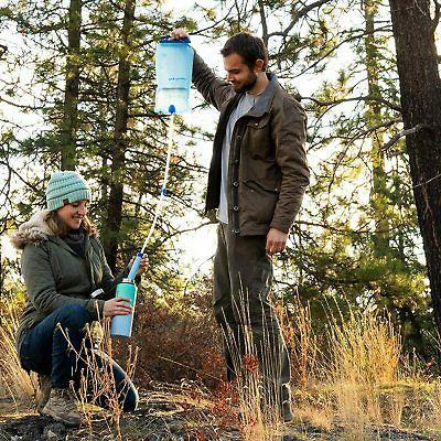 Straw Purifier Camping Hiking