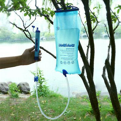 Portable Water Straw Purifier Emergency