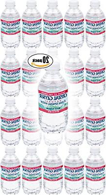 Crystal Geyser, Purified Water, 8 Fl Oz Bottle Pack of 20, T