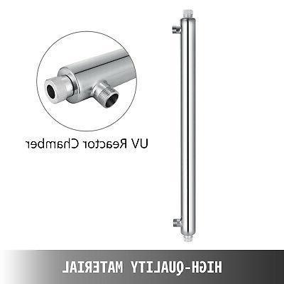 Ultraviolet Light Whole Sterilizer 55W 12GPM