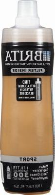 Brita Sport Water Filter Bottle, Mod Columns, 20 Ounce