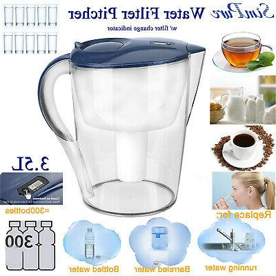 Water Pitcher Cup Purifier Filtration Water Replacement
