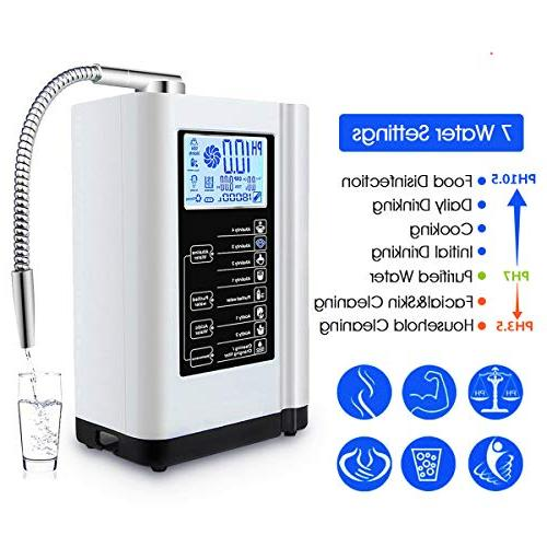 AlkaDrops Water Water Purifier PH Alkaline Acid to 6000 Liters Settings,Auto-Cleaning,Intelligent Voice