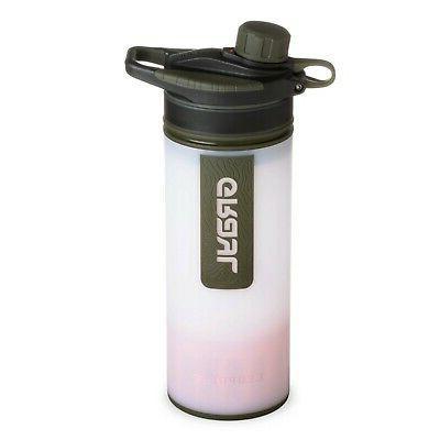 water purifier geopress 24oz bottle alpine white