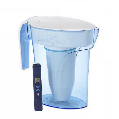 zero water pitcher 1 7l jug filter