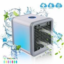 Mini USB Portable Air Conditioner Cooler Fan Humidifier Puri