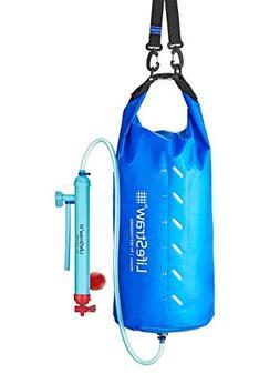 LifeStraw Mission Water Purification System, High-Volume Gra