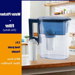 MS® Water Filtration Pitcher 4-Stage Purifier Portable Kitc