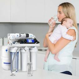 NEW5-Stage Ultra SafeReverse Osmosis Drinking Water Filter S