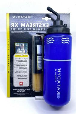 Katadyn Personal Water Purifier Blue Exstream XR With Filter