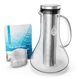 pH REPLENISH Glass Alkaline Water Pitcher - Alkaline Water F