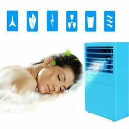 Portable 420ml Air Conditioner Water Cool Cooling Fan LED Co