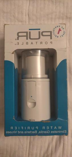 PUR Portable Antimicrobial Water Purifier, Travelling, Hikin