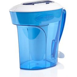 ZeroWater 12-Cup Ready-Pour Pitcher with Free TDS Meter  ZD-