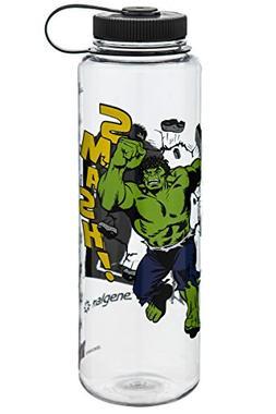 Nalgene Silo Wm 48 oz Clear Hulk Face