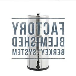 Travel Berkey Water Filter w/ 2 Black Berkey Purifiers - Fac