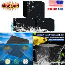 US Hot Eco-Aquarium Water Purifier Cube Aquarium Cleaning Ac