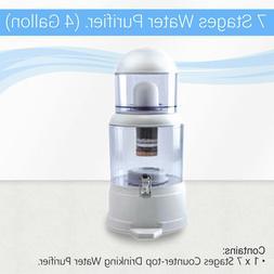 Max Water USA - 4 gallon countertop Ceramic PH water filter