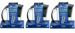 Brita Water Filter Pitcher 10 Cup Purifier • Filter as You