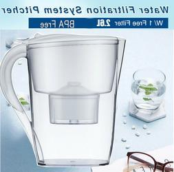 Water Filter Pitcher,Alkaline BPA-Free Water Pitcher Purifie
