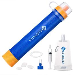 Etekcity Water Filter Straw With Stage Filtration Personal M