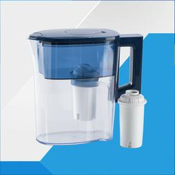 Water Filtration Pitcher Lid Blue Home Kitchen Coolers Purif