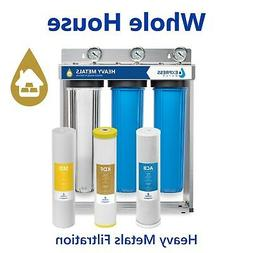 Express Water Heavy Metal Whole House Water Filter – 3 Sta