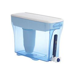 ZERO WATER 5.75 QT PURIFIER PITCHER ~ FILTERS 99.6% BACTERIA