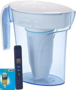 PITCHER  CUP WATER FILTER TESTER DISPENSERPURIFIER REMOVES